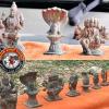 விருதுநகர், செங்குன்றாபுரத்தில் ஊரணி சீரமைப்பு பணியின்போது கிடைத்த ஐம்பொன் சிலைகள்!