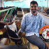 நாட்டு மாடு வளர்த்து மத்திய அரசின் 'நேஷனல் குளோபல் ரத்னா' விருதை வென்ற இன்ஜினீயர்!