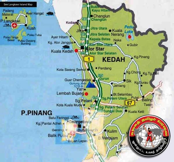 kedah_political_map