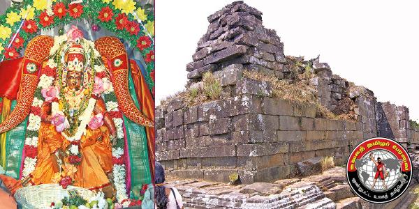 வரலாற்று சிறப்பு மிக்க மங்கலதேவி கண்ணகி கோயில் !