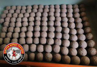 திப்பு சுல்தான் காலத்தில் பயன்படுத்திய 134 பீரங்கி கற்குண்டுகள் கண்டுபிடிப்பு!