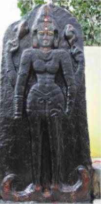 திருப்பூர் அருகே, 800 ஆண்டுகள் பழமையான துர்க்கை சிலை கண்டுபிடிப்பு!