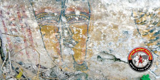 400 ஆண்டு பழமையான கல்வெட்டு, மூலிகையினால் வரையப்பட்ட ஓவியம் திருச்சி அருகே கண்டுபிடிப்பு!