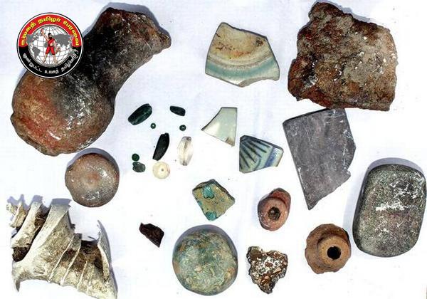 கீழக்கரை அருகே 1,000 ஆண்டுகளுக்கு முந்தைய சீன பானை ஓடுகள் கண்டெடுப்பு!