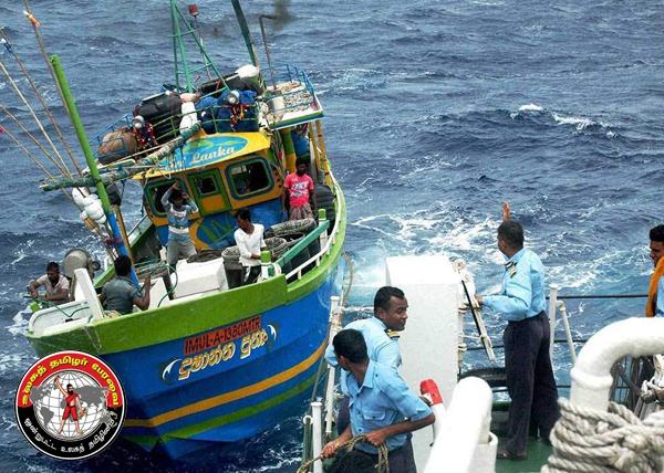 ராமேஸ்வரம் மீனவர்கள் 7 பேர் இலங்கைக் கடற்படையினரால் சிறைபிடிப்பு!