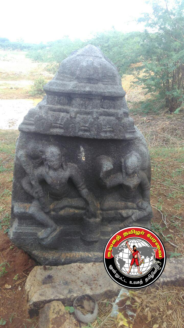 தூத்துக்குடியில் 17-ம் நுாற்றாண்டைச் சேர்ந்த நாயக்கர்கால சதிகல் கண்டுபிடிப்பு!