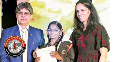 அமெரிக்க விருது பெறும் தமிழக மாணவி!
