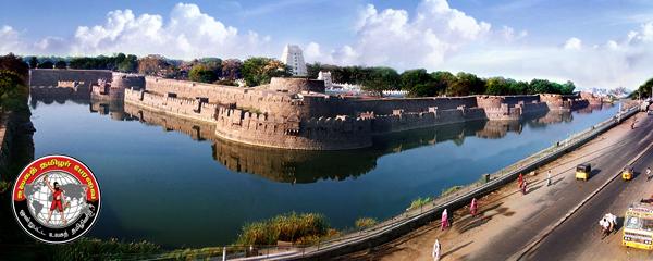 வேலூர் கோட்டையில் பீரங்கி கண்டுபிடிப்பு!