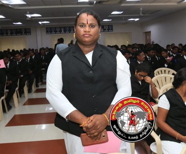வழக்குரைஞராகப் பதிவு செய்த முதல் திருநங்கை சத்யஸ்ரீ ஷர்மிளா!