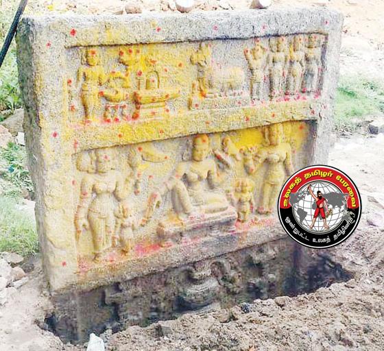 ஓசூர் அருகே 5-ம் நூற்றாண்டைச் சேர்ந்த நடுகல் கண்டுபிடிப்பு!
