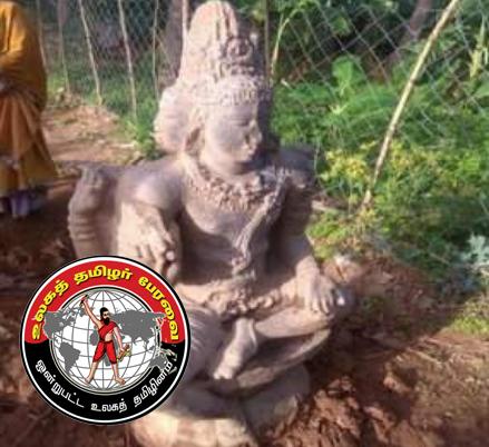 திருவையாறு அருகே 5 அடி பிரம்மா சிலை கண்டுபிடிப்பு!