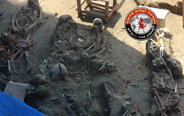 இலங்கை மன்னார்  மாவட்டத்தில் இதுவரை 175 மனித எலும்புக்கூடுகள் கண்டுபிடிப்பு!