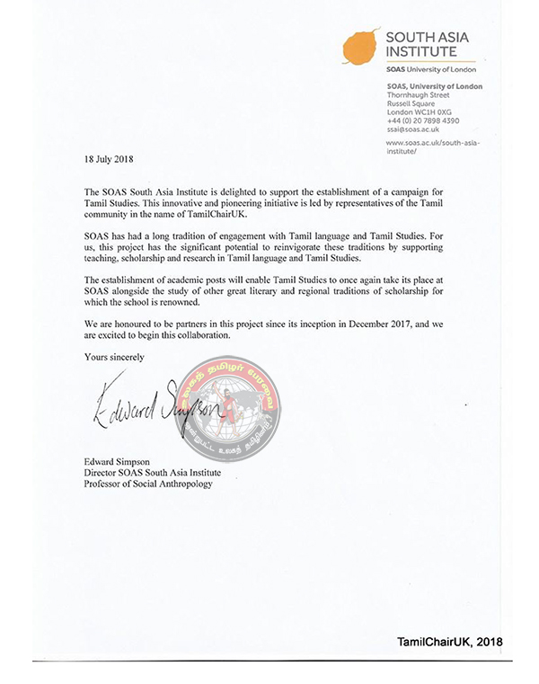 SOAS-Authorisation Letter