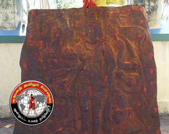காஞ்சிபுரத்தில் 14-ஆம் நூற்றாண்டைச் சேர்ந்த சதிகல் கண்டுபிடிப்பு!