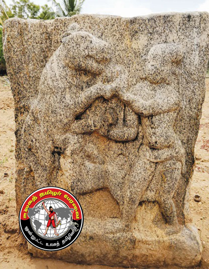 கொடுமணலில் பழமையான அய்யனார் சிற்பம், நடுகல் கண்டுபிடிப்பு!